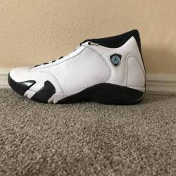 Air jordan 14 - oxidized green