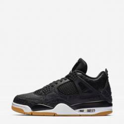 Air jordan 4 retro laser black...
