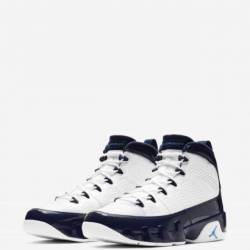Air jordan 9 retro unc white b...