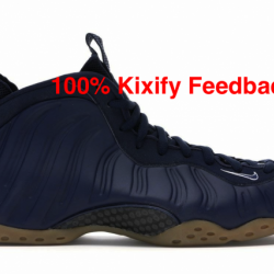 Nike air foamposite one midnig...