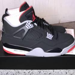 Jordan retro 4 bred 4s ds size...