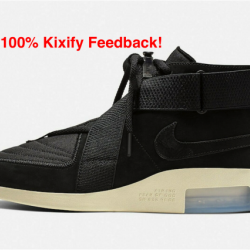 Nike air fear of god raid blac...