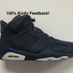 Air jordan 6 diffused blue jim...