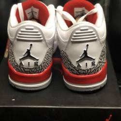 Jordan 3 hall of fame size 10.5