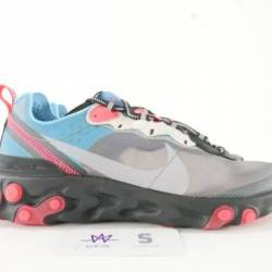 Nike react element 87 blue chi...