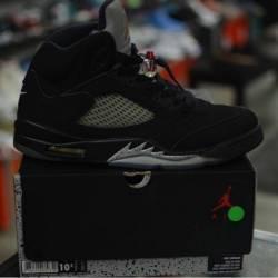 Jordan 5 metallic pre owned