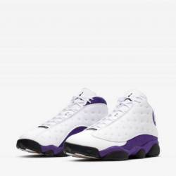 Air jordan 13 retro lakers whi...