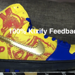 Nike sb dunk high doernbecher