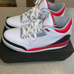 Air jordan fire red 3