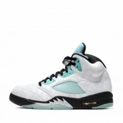 Air jordan 5 retro island gree...
