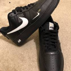 Air force 1 low utility black ...