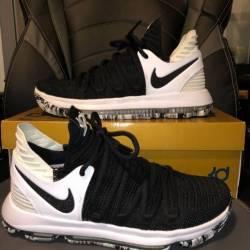 Nike kd 10 black white