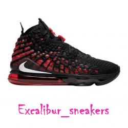 Nike lebron 17 infrared bq3177...