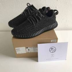 Yeezy boost 350 'pirate black'...