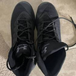 Under armour curry 3 triple black