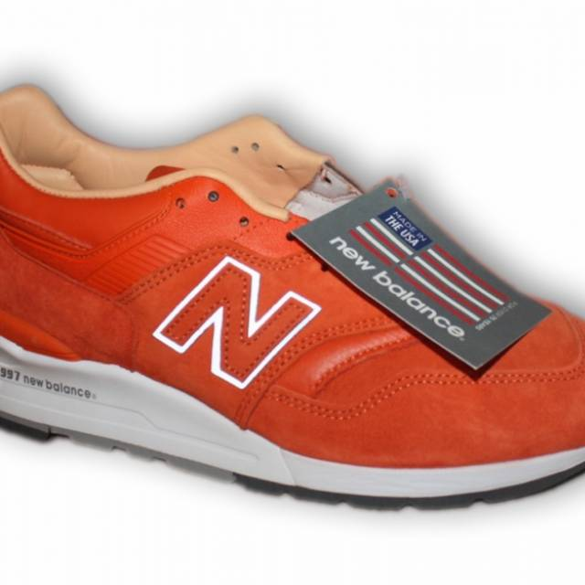 "super popular 74282 6e85d CNCPTS x New Balance Made in USA 997 ""Luxury Goods"" Orange"