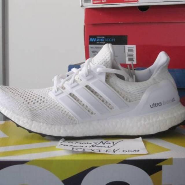 d9545c75ebcdc Adidas Ultra Boost Triple White S77416
