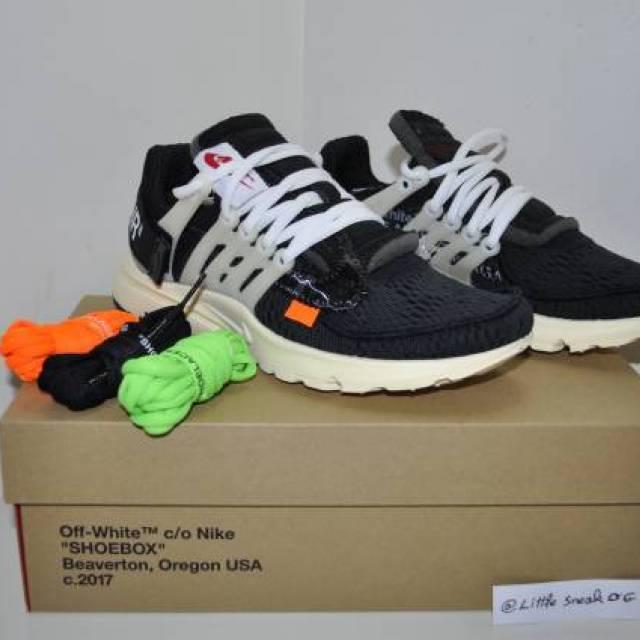 the best attitude 6d9e1 e4913 Nike Air Presto X Off White The Ten Size 6 Us 5.5 Uk 38...