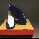 Jordan retro 12 french Blue