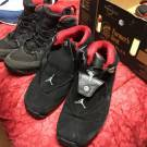 Retro 18 black/red