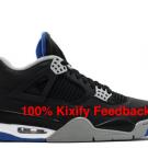 Air Jordan 4 Alternate Black Motorsport Free shipping