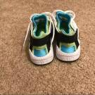 Wmns Nike Huaraches white blue and green trainers