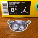 Air Jordan Retro 6 Brazil READY TO SHIP