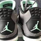 Air Jordan 4 - Green Glow