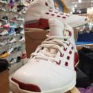 NIKE AIR JORDAN 17 OG WHITE/VARSITY RED MEN'S SHOE SIZE 10.5  (302720-161)