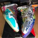 """100% authentic Nike Lebron 11 """" what the Lebron """" size 9 650884 400"""