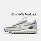 sacai x Nike LDWaffle Summit White