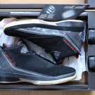 Air Jordan XX2 Black Varsity Red Jordan 22 100% DS